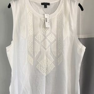 J Crew T-shirt/ Shell XL NWT